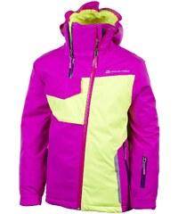 ALPINE PRO Dětská zimní bunda Caito fialová