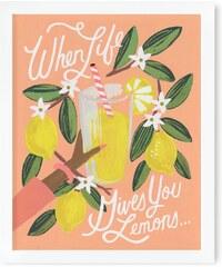 RIFLE PAPER Co. LEMONS TO LEMONADE