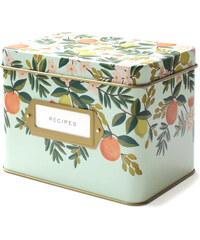 RIFLE PAPER Co. CITRUS FLORAL krabička na recepty