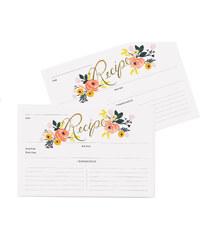 RIFLE PAPER Co. PEONY karty na recepty