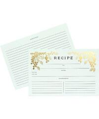 RIFLE PAPER Co. GOLDEN GARDEN karty na recepty