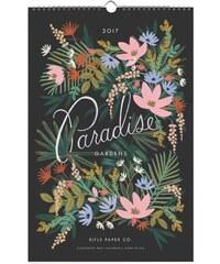 RIFLE PAPER Co. PARADISE GARDENS nástěnný kalendář
