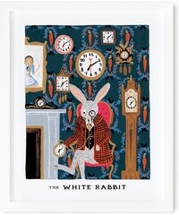 RIFLE PAPER Co. ALENKA V ŘÍŠI DIVŮ / WHITE RABBIT