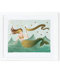 RIFLE PAPER Co. VINTAGE MERMAID print