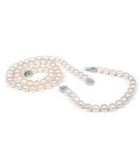 JwL Jewellery Souprava šperků z pravých perel 3 v 1 JL0013