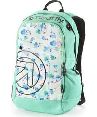 Meatfly Batoh Basejumper 2016 Backpack F Floral Mint