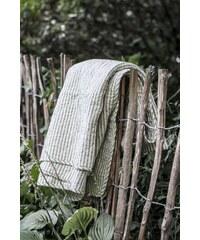 IB LAURSEN Prošívaná deka Olive Stripe 130x180 cm