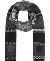 GEMMA.H Skull Nordic Knit Black