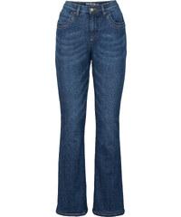 John Baner JEANSWEAR Thermo-Stretch-Jeans, Kurz in blau für Damen von bonprix
