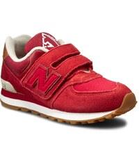 Sneakersy NEW BALANCE - KV574NJY Červená