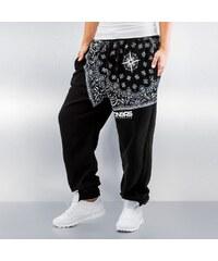 Dangerous DNGRS Paisley Compass Sweat Pants Black/White