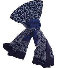 Dámský šátek Calvin Klein allover midnight