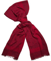 Dámský šátek Calvin Klein allover lipstick red