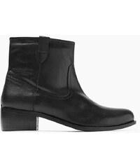 Esprit Ležérní kotníčkové boty z hladké kůže