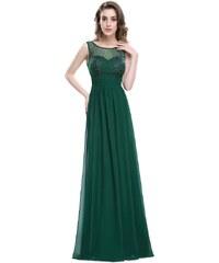 Ever Pretty plesové šaty elegantní zelené 8784 c027518a2c