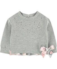 Monnalisa T-Shirt aus 2 Materialien
