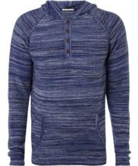 Armedangels Pullover mit Kapuze und Knopfleiste