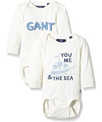 GANT Unisex Baby Nb. Two Pack Body Boy