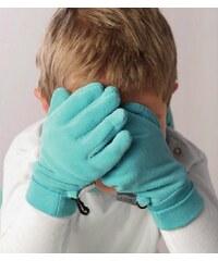 dětské flísové rukavice- zircon, STERNTALER