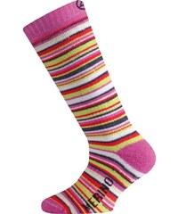 dětské merino ponožky WJP - růžové, LASTING
