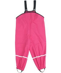 dětské nepromokavé kalhoty s fleece podšívkou-růžové, Playshoes
