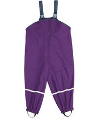dětské nepromokavé kalhoty s podšívkou-fialové, Playshoes