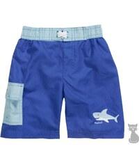 Dětské plavky - plážové šortky Žralok - modré, Playshoes