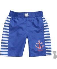 Dětské plavky - plážové šortky Maritim - modré, Playshoes
