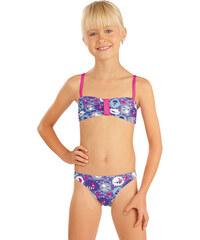 Dívčí dvoudílné plavky 79661, Litex