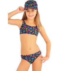 Dívčí dvoudílné plavky 79695, Litex