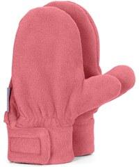 dětské flísové rukavice, palčáky - růžové, STERNTALER