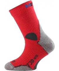 dětské merino ponožky TJD - červené, LASTING