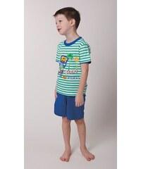 dětské bavlněné pyžamo BEEP BEEP - zelené, CALVI