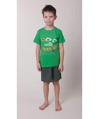 dětské bavlněné pyžamo Krokodýl - zelené, CALVI