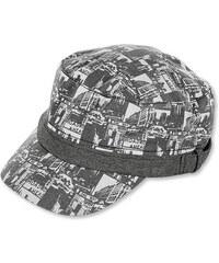 bavlněná kšiltovka UV50+, City - šedá, Sterntaler