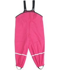 dětské nepromokavé kalhoty s fleece podšívkou-růžové, Playshoes, velikost 92
