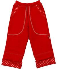 rostoucí kalhoty DOT - červené, FARMERS, velikost 92
