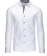 Společenská pánská bílá košile