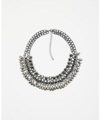 Pimkie Glänzende Plastron-Halskette