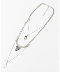 Pimkie Halskette im Minimal-Stil mit Schmuckstein