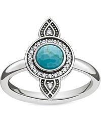Thomas Sabo Ring ´´Ethno Traumfänger´´ türkis TR2090-646-17-56