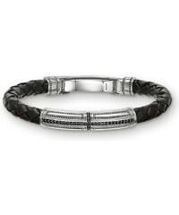 Thomas Sabo bracelet de cuir noir LB41-019-11-M
