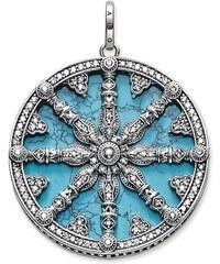 Thomas Sabo pendentif roue du karma turquoise PE669-405-17