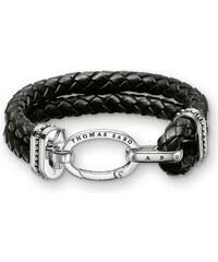 Thomas Sabo bracelet de cuir noir LB39-008-11-XL