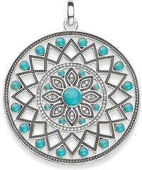 Thomas Sabo pendentif ´´amulette ethnique´´ turquoise PE713-646-17