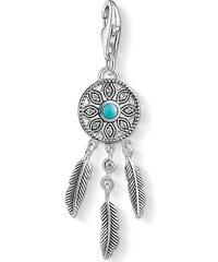 Thomas Sabo pendentif Charm ´´attrape-rêves ethnique´´ turquoise 1326-646-17