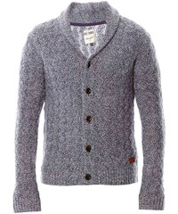 Wrangler Zig Zag - Gilet en laine tricotée - bleu ciel