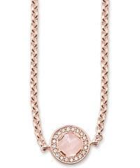 Thomas Sabo Kette pink KE1336-417-9-L80