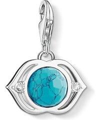 Thomas Sabo pendentif Charm ´´lotus turquoise´´ turquoise 1328-060-17