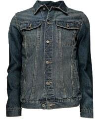 Soulstar MJ MATRIX - Veste en jean - denim bleu